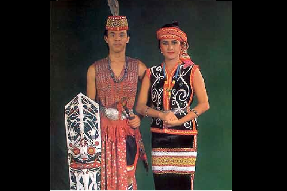 Traditional Costume of West Kalimantan
