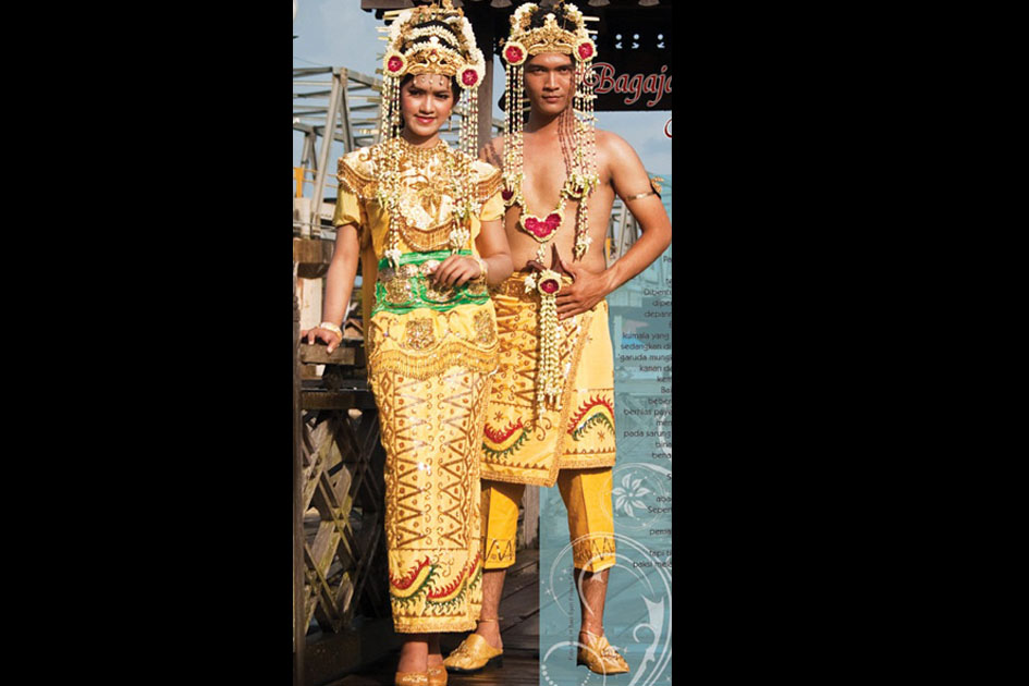 Traditional Costume of Banjar