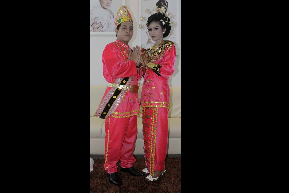 Traditional Costume of Minahasa