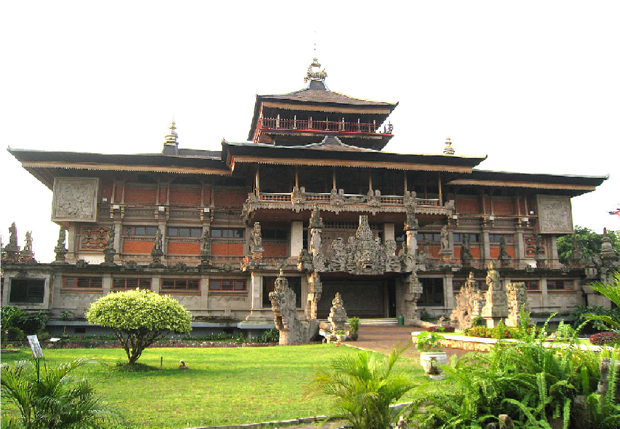 Traditional House of Bali Gapura Candi Bentar