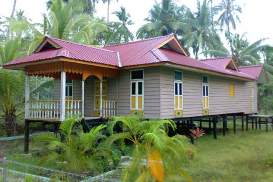 Traditional House of Belah Bubung